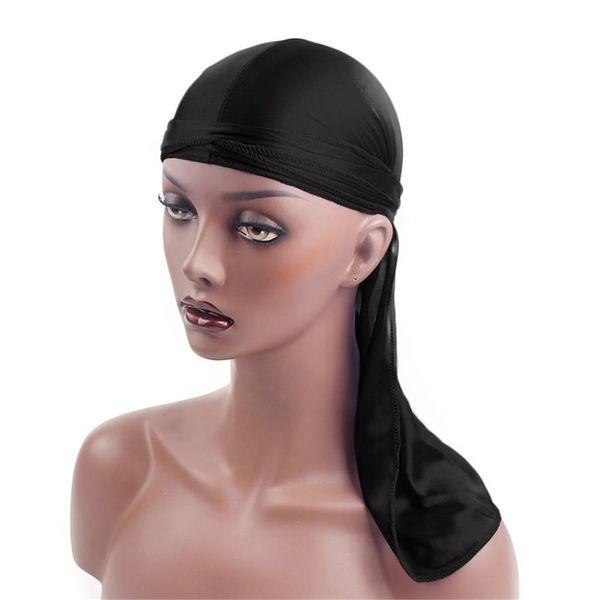 Okdeals Moda Donna Uomo Town Hip-Hop Bandana Cap Turbante Cappello da pirata Allacciatura Bandane Parrucche Spandex Durag Biker