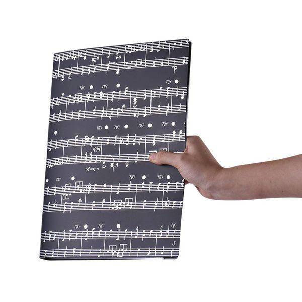 Hot Paper Documents dossier de stockage de support A4 Taille 40 Paquet poches Instrument de musique Accessoires