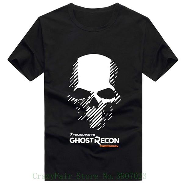 Yaz T-shirt Siyah Gömlek Oyunu Cosplay Kostüm Giyim Üst Yetişkin Tasarım Kısa Kollu Tee Gömlek Için