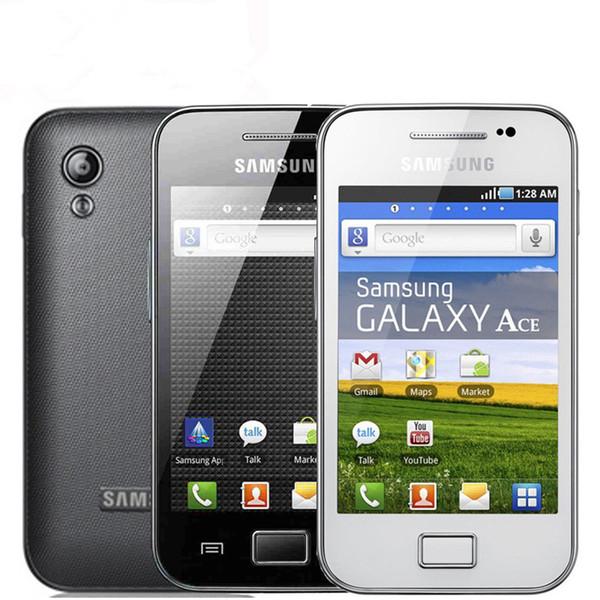 Remis à neuf d'origine Samsung Galaxy S5830 débloqué Andriod téléphone portable Mini carte SIM 2G 5MP réseau 3G