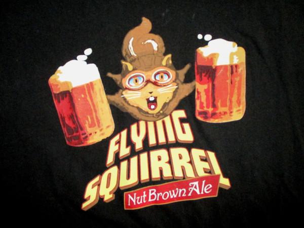 SUDADERA DE SQUIRREL QUE VUELA BROWN ALE T SHIRT Difícil Craft Beer Pilot Go Nuts HOPS M XL Hombres Mujeres Unisex camiseta de moda Envío Gratis
