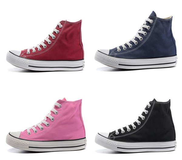 Star All Classic Shoes Tay Lor Chuck Hombres Mujeres Low Top Brand Canvas Canvas All Casual Skate Shoes With Box