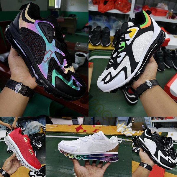 New Release 200 Black White Rainbow Sports Sneakers Gym Red Mens Trainers Utility 200S Designer Shoes Man Casual des chaussures Size 7-12