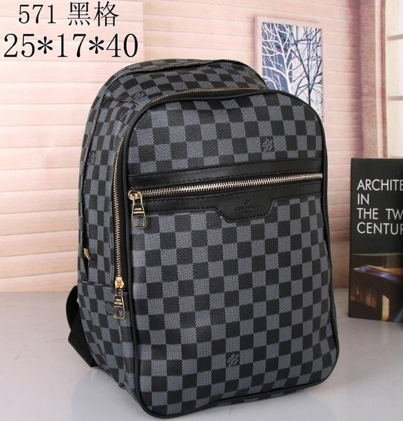 best selling 2019 School Backpack Travel Bags Mans Women Backpacks Authentic Quality Black Outdoor Sports Packs 0016