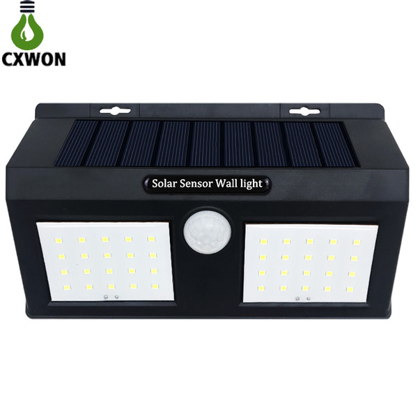 2019 Smart Sensor And Solar Power 20 Led Wall Light Pir Motion Sensor Outdoor Security Lamp Waterproof Garden Wall Lamp Landscape Lights From