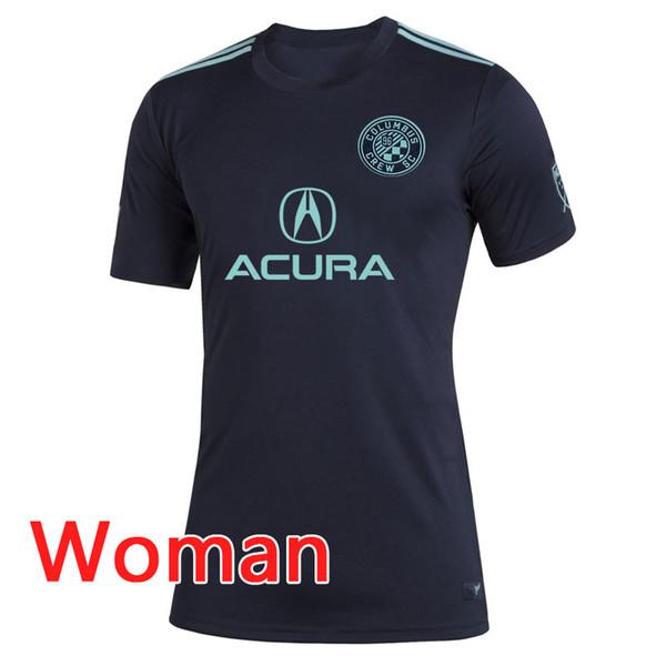 Versione tailandese quality1 MLS Columbus 20 19 Parley Jersey 2019 2020 Parley MLS Columbus maglia da calcio da donna 19 20 MLS Columbus Parley maglie