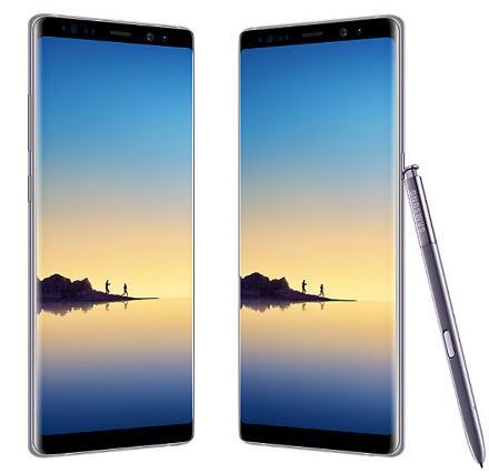 Ursprüngliches Samsung Galaxy Note 8 6 GB RAM 64 GB ROM 6,3 Zoll Octa Core Dual Back Kamera 12MP 3300mAh Entsperrt renoviertes Telefon