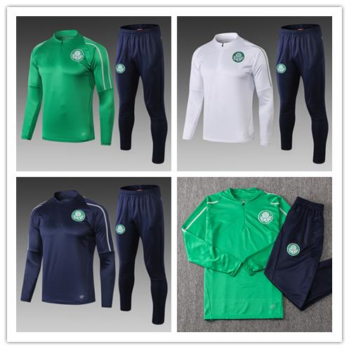 top popular 2019 Palmeiras soccer jacket tracksuit Survetement set 19 20 GREEN DUDO G.JESUS ALECSANDRO Brazil club Sao Paulo sportswear suit 2020