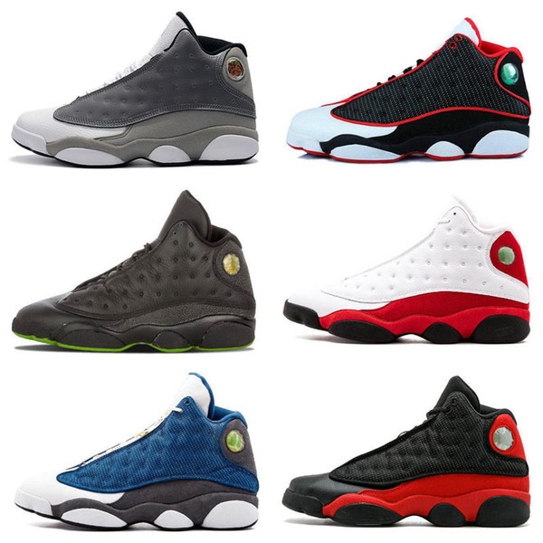 Wholesale Basketball Shoes For 13 13s Sneaker Bred Black True History Of Flight DMP Discount Sports Shoe Women Sneakers Best Quality Trainer Sneakers