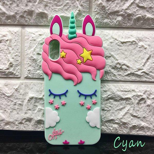 unicorn cyan