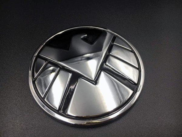 Metal Avengers Agents Of Shield Eagle Logo Car Decal Badge Auto Sticker Emblem