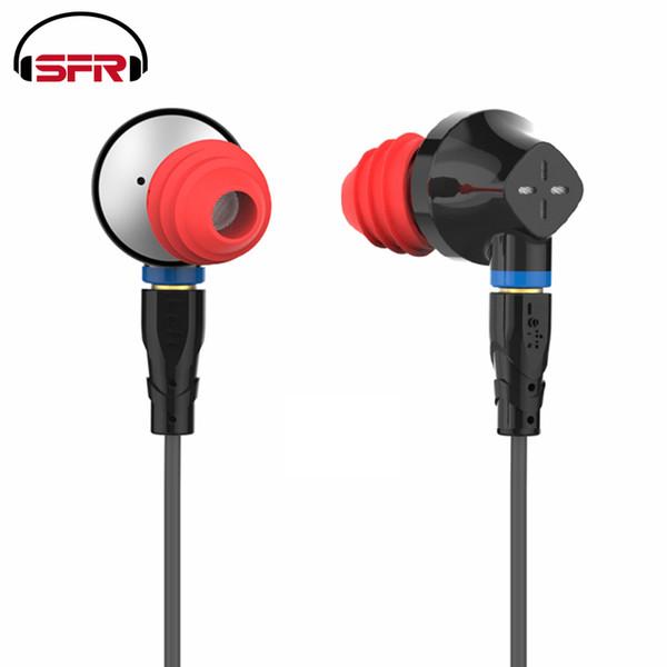 SENFER DT6 1BA + 1DD + Cerámica Piezoeléctrico Híbrido 3 Unidad de unidad En el oído Auricular DJ HIFI Auricular de metal con desmontable Desmontable MMCX