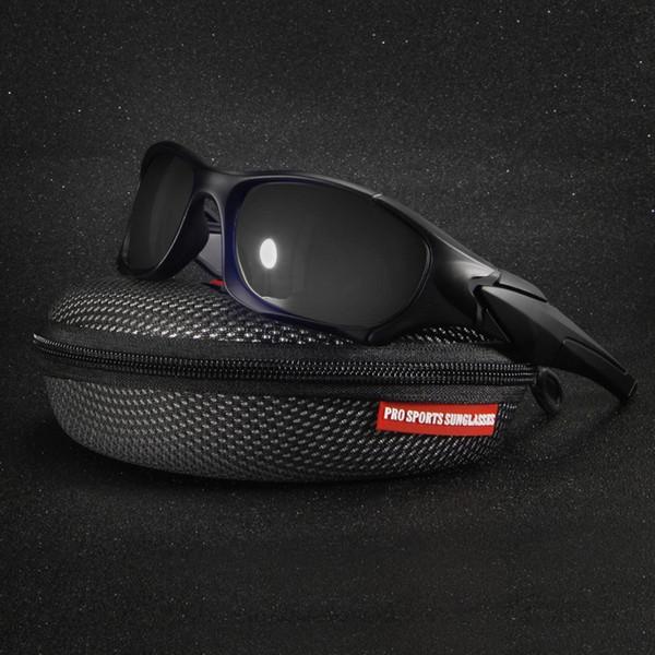 4d88208c6da1c Queshark Profissional Legal Polarizada Ciclismo Óculos Esportes Ao Ar Livre  Da Motocicleta Equitação 3 Cores Tamanho Grande À Prova de Vento óculos de  Sol   ...