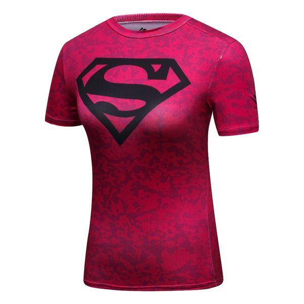 Cody Lundin Women Marvel Superheroes Superman /Batman T Shirt Bodybuilding Gym Running Exercise T-shirts For Female Camisetas #265382