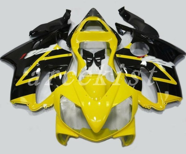 4Gifts New Injection ABS bike Fairing kits Fit for HONDA CBR 600 F4i fairings 2001 2002 2003 CBR600 FS F4i body 01 02 03 Nice yellow black