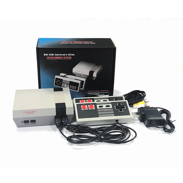 best selling Hot NES Game Consoles With Classic Games Mini TV Video Games Handheld Retro Player AV Out For PAL NTSC With Retail Box