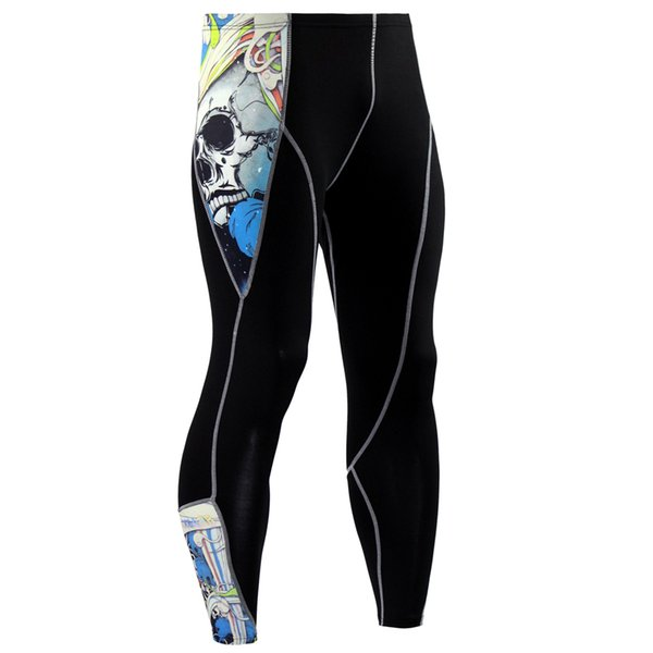 Wholesale New Brand Fitness Men Running Tights Gym Yoga Trousers Crossfit Jogger Sports Leggings Athleisure Sportswear Jog Elastic Pants
