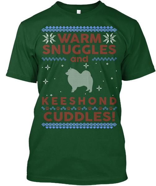 Camisola Feia Do Natal Do Keeshond. T Tagless popular do T