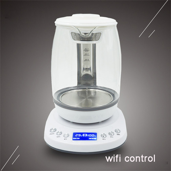 Tuya APP/Wifi control smart electric kettle works with alexa and google home wifi kettle