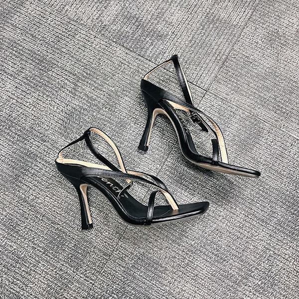 Schwarz Sandalen