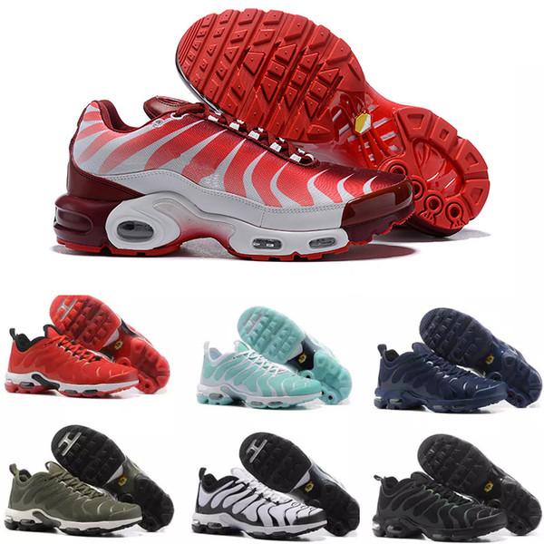nike TN plus air max airmax 2018 Artı TN Koşu Ayakkabıları Moda Tasarımcısı Ultra Zapatillas Spor Sneakers Kızlar Bayan Açık Eğitmenler Rahat Trails