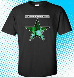 Novità T-Shirt Blao-Neck Bla-Neck uomo Jesus and Mary Chain Automatic RoO-Neck Band Taglia S-3XL