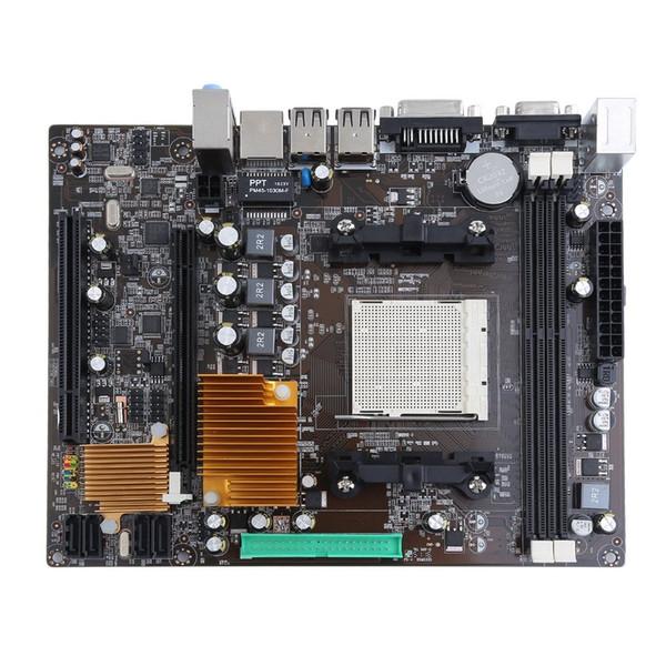 Livraison gratuite A780 Ordinateur de bureau pratique Ordinateur Carte mère Carte mère AM2 AM3 prend en charge la double voie DDR3 16G 1600/1333 / 1066MHz