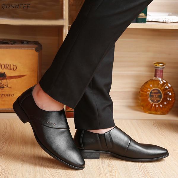 Männer Kleid Schuhe Allgleiches Korean Stil Lackleder Hohe Qualität Party Hochzeit Schuh Männer rutschfeste Deodorant Klassische Mode