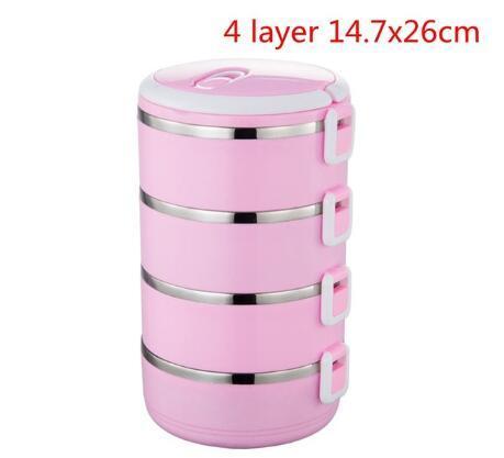 4 층 핑크