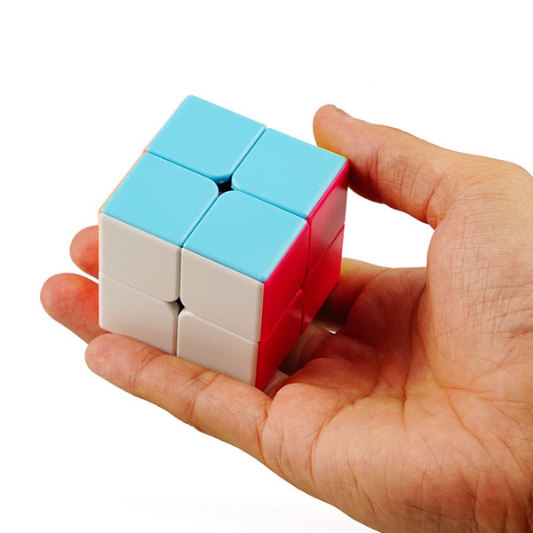 Second-order Magic Neo Cube Smooth Solid Color Magic Square Fun Puzzle Children's Toys Wholesale