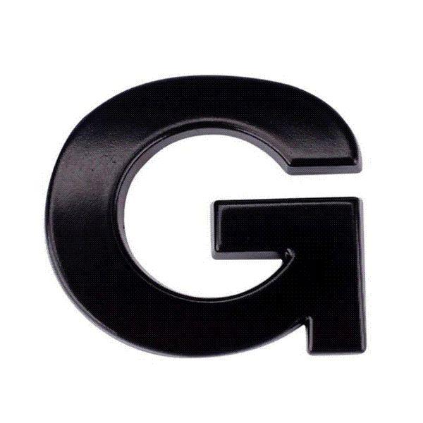 (A-M) 3D DIY Metallic Alphabet Sticker Car Emblem Letter Silver Badge Decal wholesale car emblem letters