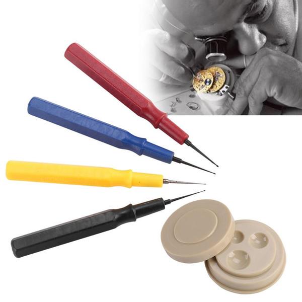 Высокое качество Часы масленка Kit Часовщик Repair Tool Professional Часы масленка Набор 1 Oil Cup 4 Oil Pen Tool Ассортимент Часы