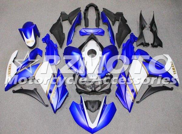 Nuovo kit carenatura moto ABS stampi ad iniezione per YAMAHA R3 R25 2014 2015 2016 2016 2017 2018 2019 parti motociclistiche sportive Custom Blue White
