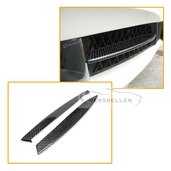 Brand New Fibre De Carbone Fibre De Carburant Couvre La Lampe Masques Garniture Autocollant Pour BMW F07 GT Gran Turismo 2010-2012
