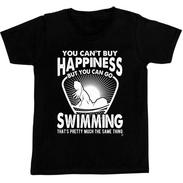 Sie können Happinesser nicht kaufen, aber Sie können gehen, T-Shirt zu schwimmen