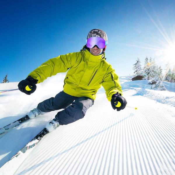 OUTAD Çift Katmanlar Kayak Gözlükleri UV Anti-sis Koruma Gözlükleri Açık Spor Pateni Kayak Gözlük Kar Snowboard Gözlük