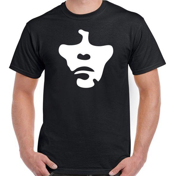 Ian Brown Face The Stone Roses T-Shirt musicale da uomo Camicie casual da uomo in cotone 100% T-Shirt sportiva da uomo in cotone T-Shirt manica corta