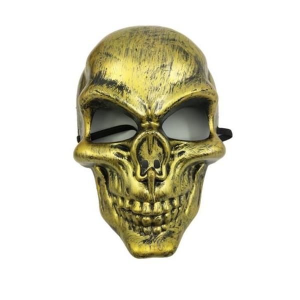 Halloween Face Skeleton Warriors Ghost Festival Máscaras al por mayor Protective Skull Mask of Terror Halloween Masquerade CS Games Masks mayorista