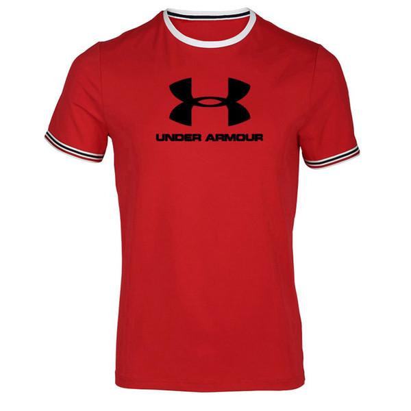 Мужская с коротким рукавом футболка летняя мода личность горячие продажа мужская и женская топы шею с коротким рукавом рубашки S-XXXL