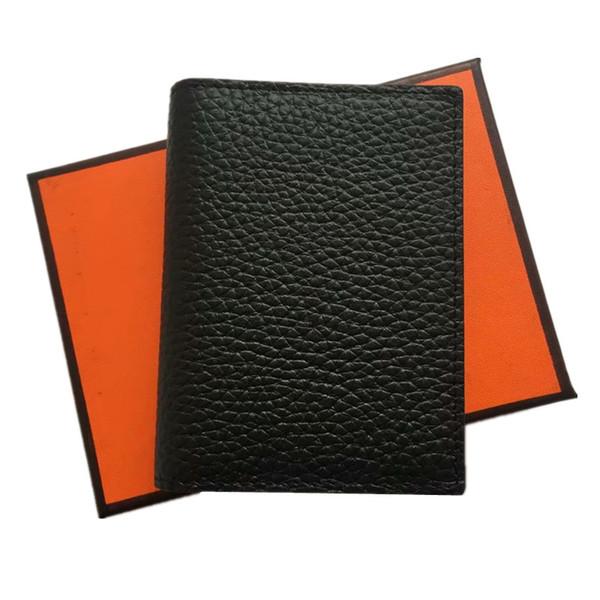 Высокое качество натуральная кожа унисекс визитница бумажник банка кредитной карты случае ID держатели женщины держатель карты порт карт
