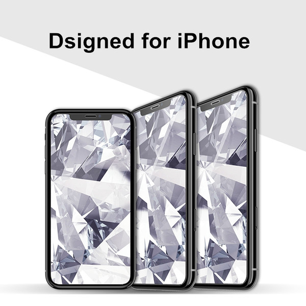 wholesale for iPhone Xs Max Glass Full Protection for iPhone Xs Tempered Glass Screen Protector for iPhone Xs Max Protector Film