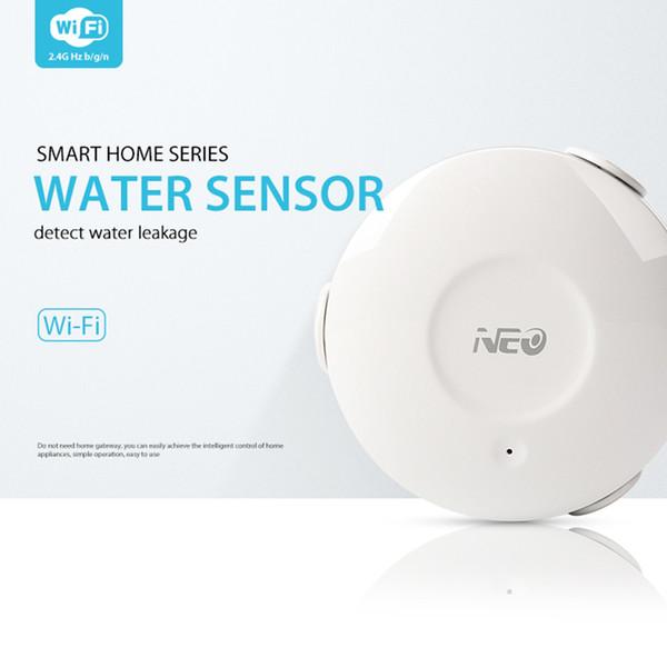 NEO Coolcam NAS-WS02W WiFi Detector inteligente de fugas de agua Fugas de agua Detector de Wi-Fi Alertas de notificaciones de alertas