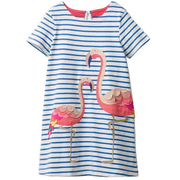 Baby Mädchen Kleid Kinder Kostüm Prinzessin Einhorn Kleider Baumwolle Vestidos Kinder Flamingo Kleid Für Mädchen Kleidung