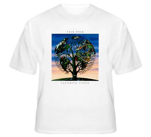 Risa Stock Talk Talk Album T ShirtFunny envío gratis Unisex Casual camiseta