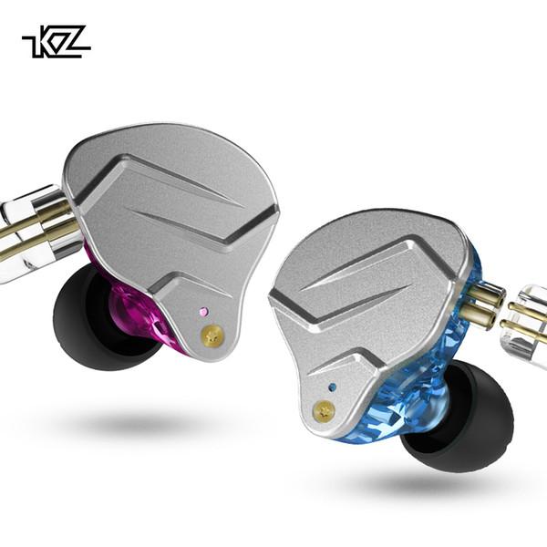 Kz Zson Ecouteurs Assistance Moniteur Ecouteurs Metal Ecouteurs Technologie Hybrid