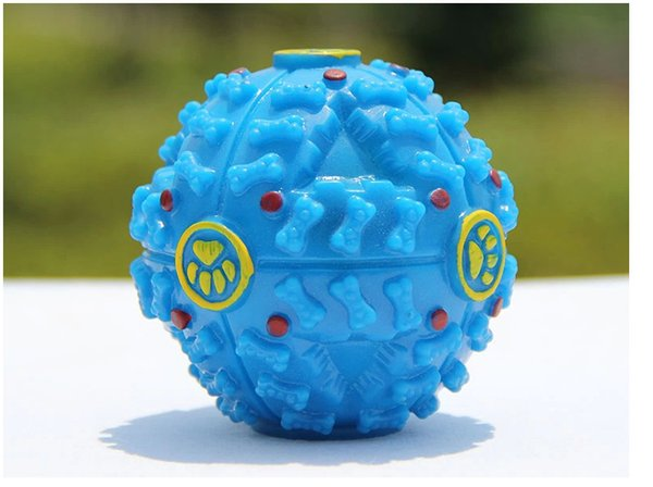 Pet Toy Dog Toy Blame Ball Vocal Leakage Food Ball Rubber Pet Toy Free Postal Hot Sale