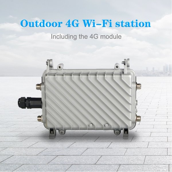 Wireless Outdoor Mobile Wifi Router 4G LTE Router high level 3G 4G load WiFi Gigabit CPE Lte Wireless industrial outdoor
