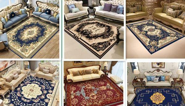 20 Styles Vintage Pattern Carpet Luxury Living Room Carpet Hot Sale Anti  Slip Carpet Black Home Decor Doormat Kitchen Bathroom Floor Mat Shaw ...