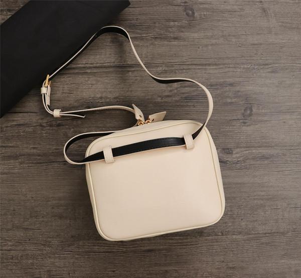 2019 novo designer de luxo sacos lady messenger bags branco couro genuíno pequeno crossbody bolsa de ombro ocasional das mulheres sacos quadrados convenientes