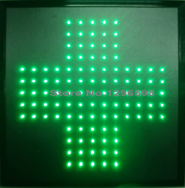 2017 hot sale graphics 15mm pixels semi-outdoor Led Business Shop Open Neon Sign 19x19 Inch led pharmacy cross sign